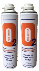 2 X O2 10 Litre Replacement Oxygen Cans