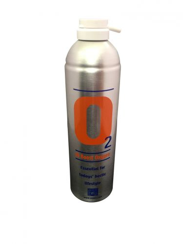 1 X O2 7.2 Litre Replacement Oxygen Can inc Tubing Adaptor